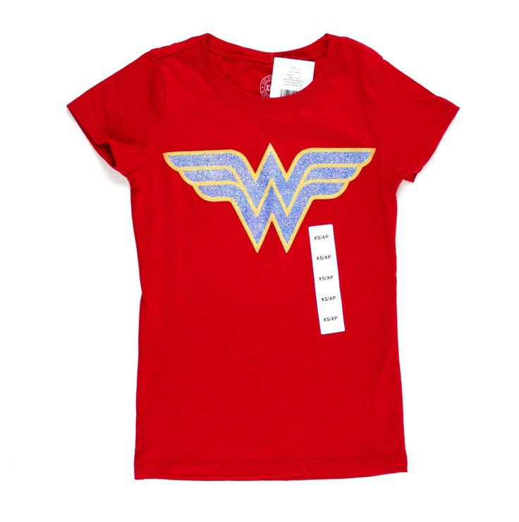 DC Comics t-shirt, Wonder Woman t-shirt, superhero t-shirt