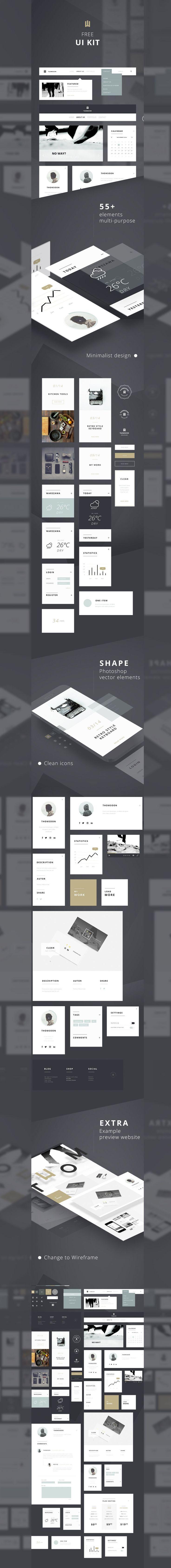Free: PSDFest Design Asset Bundle | UI Kits, Mockups & More