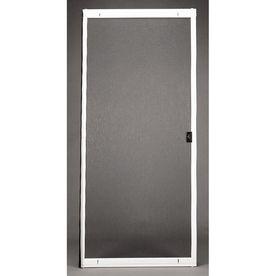 Ritescreen White Steel Screen Door Common 80 In X 36 In