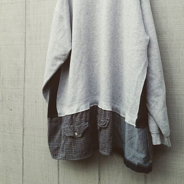 Upcycled sweatshirt tunic by CreoleSha - these are my favorite to throw on in the winter!!! Comfy and Warm! Oh and stylish!
