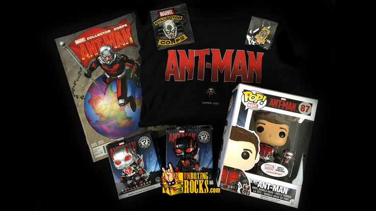 All Exclusive Items Inside June 2015 Marvel Collector Corps