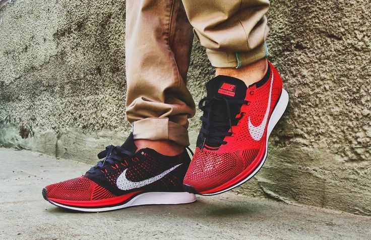 Sweetsoles – Nike Flyknit Racer - Red/Black (by SHURKI88) | SNEAKERS |  Pinterest | Nike flyknit racer red, Flyknit racer and Nike flyknit