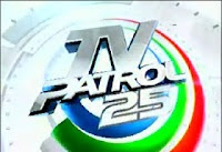 05.09.2012 TV Patrol is the flagship nationwide network news broadcast of ABS-CBN in the Philippines . It truly is aired Monday to Friday from 6 :30 p .m . to 7 :45 p .m . , Saturdays from 5 :00 p .m . to 5 :30 p .m . , and also Sundays from 6 :00 p .m . to 6 :30 p .m . ( PST ) . It can be heard simultaneously on radio through DZMM , its television counterpart DZMM TeleRadyo , and its provincial radio stations based in Cebu and Davao . It is also aired internationally via The Filipino…
