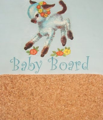 Marble Rose baby board
