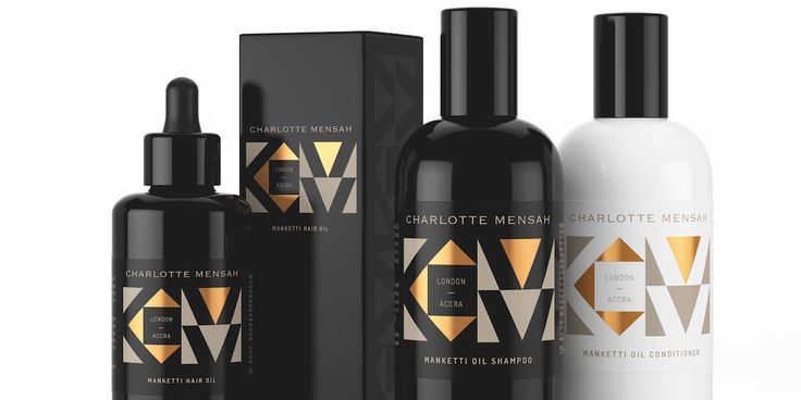 Charlotte Mensah Manketti Oil Collection — The Dieline - Branding & Packaging