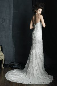 C383 Allure Couture Wedding dress