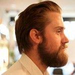 tom bushnell barber - beard side shot