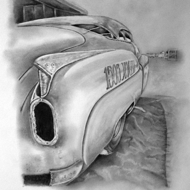 Deb Howard-Rauls  Bombshell Betty <3: Jeff Brock, Howi Art, Deb Howard Raul, 52 Buick, Bombshells Betty Salts Flats, Flats Records, Deb Howi, Brock 52, Brock Bombshells