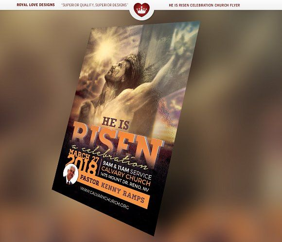 119 best Easter Church Print Templates images on Pinterest Adobe - church flyer template