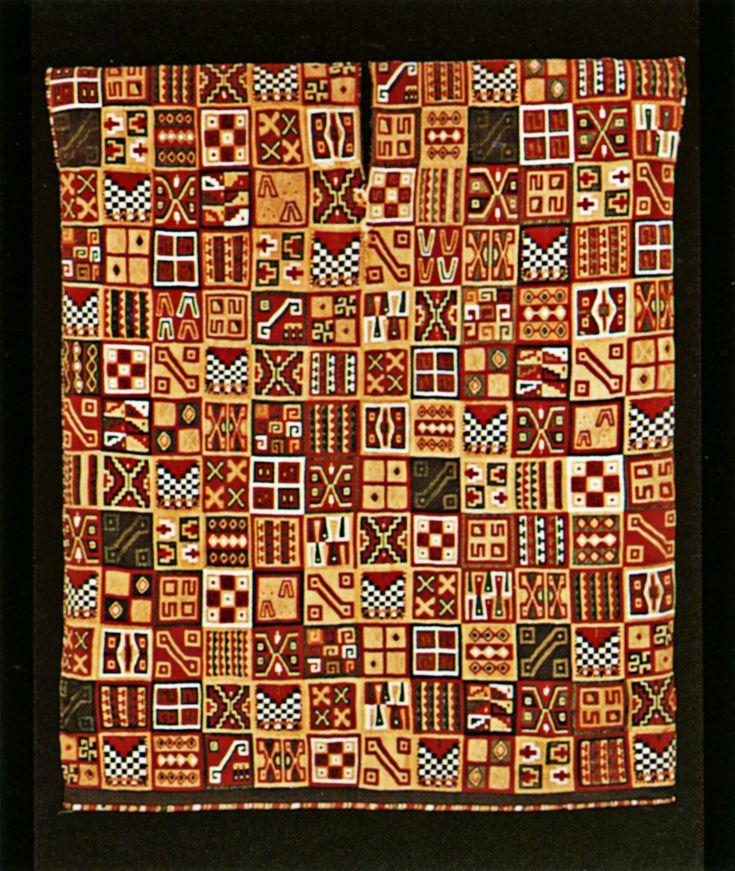 Tunic Peru Inca C 1500 Camelid Fiber And Cotton 35 7