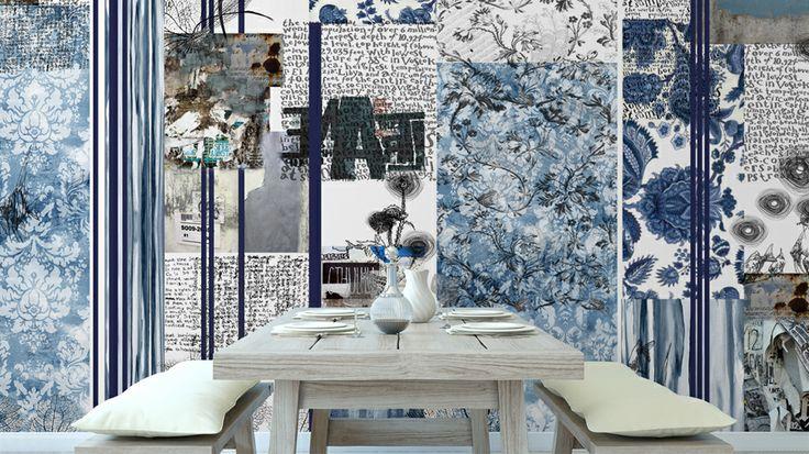 TURQUOISE CRUSH - GL 5401A - Glamora - Creative Wallcoverings