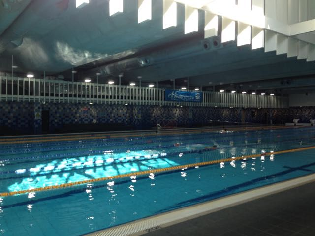 QUT pool  ブリスベンシティ唯一?の屋内プール  https://www.qut.edu.au/campuses-and-facilities/gardens-point-campus/gym-and-sports-facilities