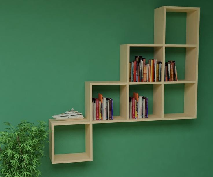 Rafline Kitaplık - 2013 Kitaplık Modelleri - Kitaplık Modelleri