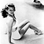 rita hayworth costume da bagno anni-50
