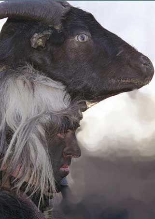#Sardinian #Urtzos #carnival mask