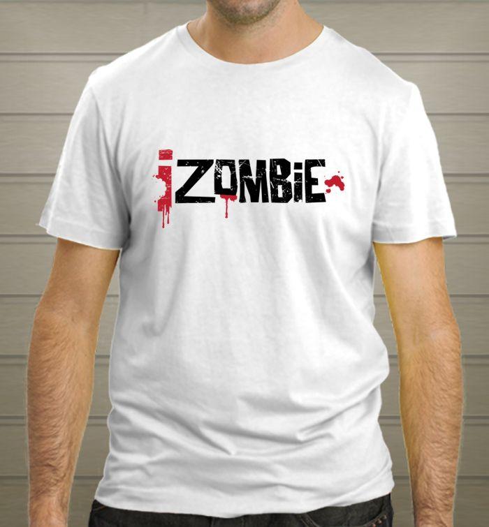 IZOMBIE t-shirt zombie movie tee Man Woman White colour T-Shirt new - T-Shirts, Tank Tops