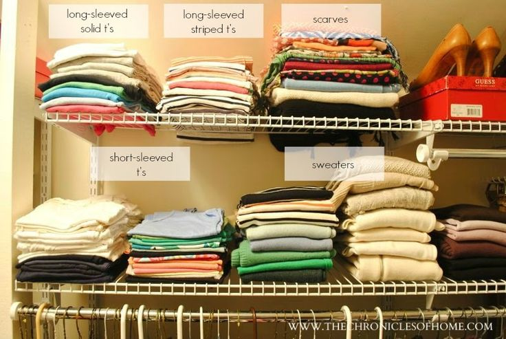 17 best images about closets on pinterest closet How to organize clothes without a closet