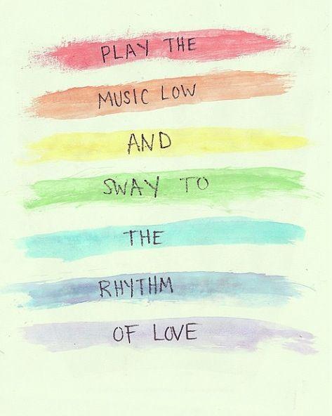 Rhythm Of Love  - Plain White Ts
