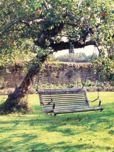 25 best ideas about garden swings on pinterest yard swing tree swings and sitting in a tree. Black Bedroom Furniture Sets. Home Design Ideas