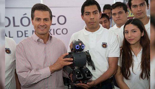 Presidente Enrique Peña Nieto reconoce a estudiantes del TecNM - TecNM - Tecnológico Nacional de México