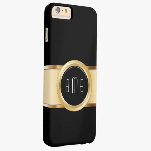 It's a cool iPhone 6 Case! This Business Men's Monogram Barely There iPhone 6 Plus Case is ready to be personalized or purchased as is. It's a perfect gift for you or your friends.