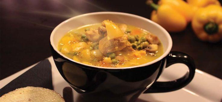 Κοτόσουπα με λαχανικά & σαφράν. #soups #mastercook #cooking #μαγειρική