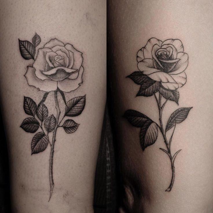 #rose #ovariancancercanada tattoos done by @masonjamestattoo at Black Widow Tattoo