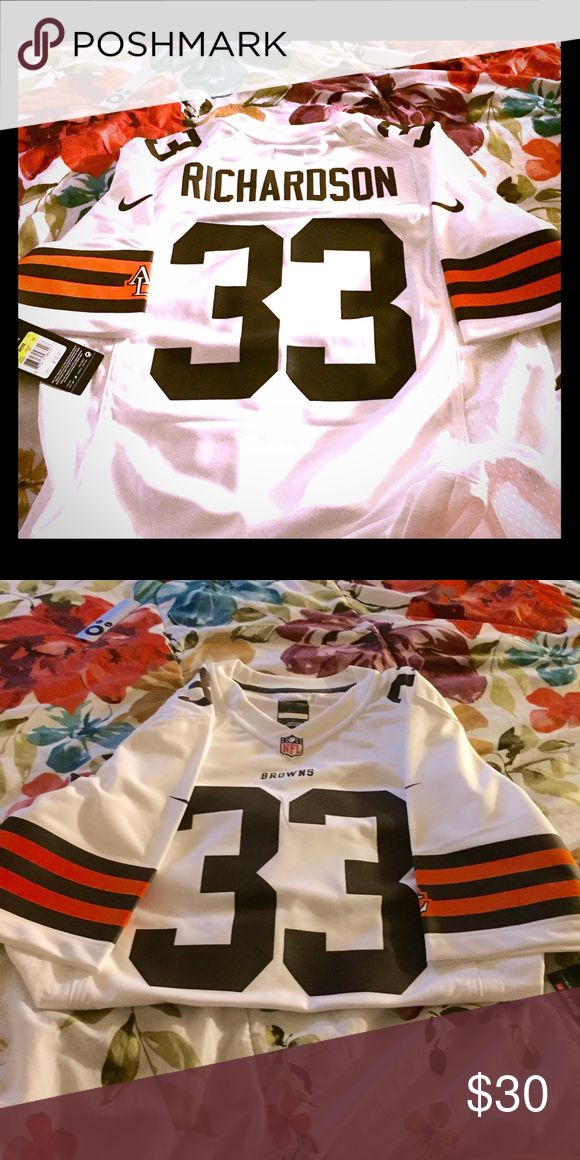 NFL Browns Jersey #33 Richardson Brand new with tags. Nike. Size Small. Nike Other