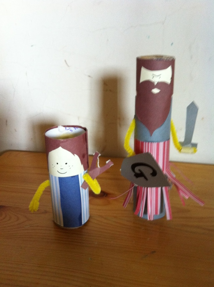 Preschool Bible Craft Goliath And David