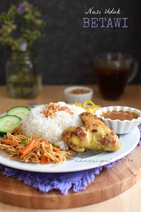 Dapur Mama Aisyah: Nasi Uduk Rice Cooker & Ayam Goreng Ungkep Bumbu Kuning