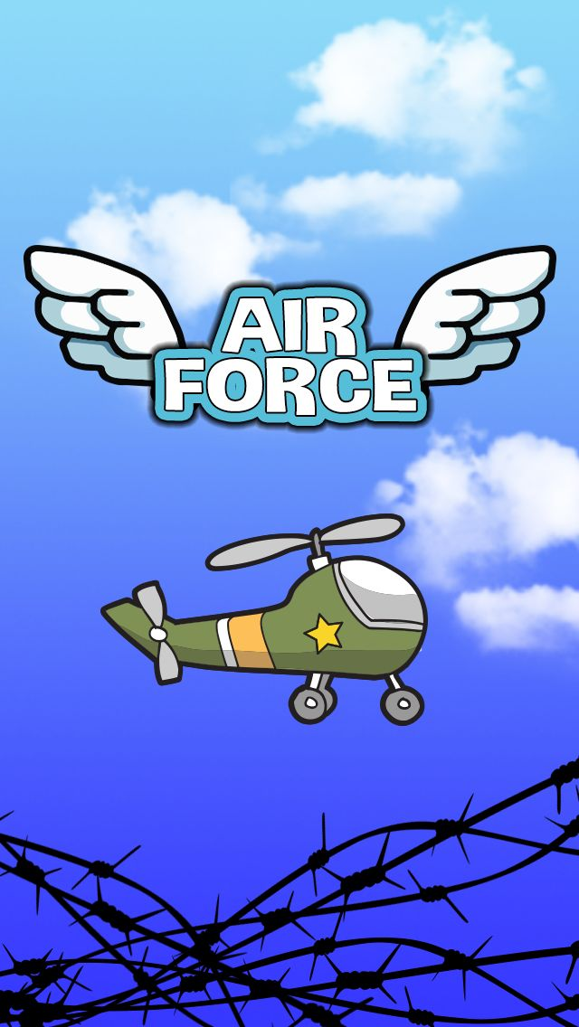 AirForce is a brave little helicopter game for iOS that will keep you entertained.