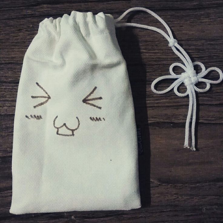 Smiley pouch - by EmoGIRL! Handmade bags and accessories