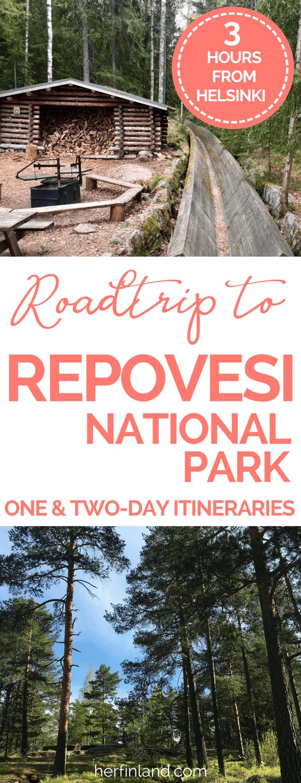 I recommend visiting a national park in Finland. A great day-trip or weekend trip destination is Repovesi national park. Easy and beautiful route!