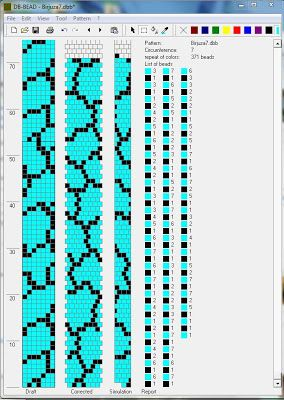 Free Crochet Bead Pattern Round 7