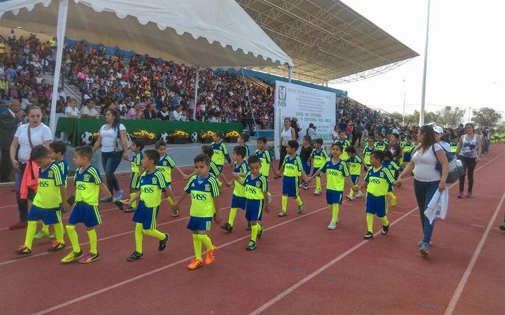 Se dio formal inauguración al torneo de la Liga de futbol infantil-juvenil IMSS temporada 2017-2018, en el que un total de 81 clubes, conformados por 301 equipos, suman más de ...