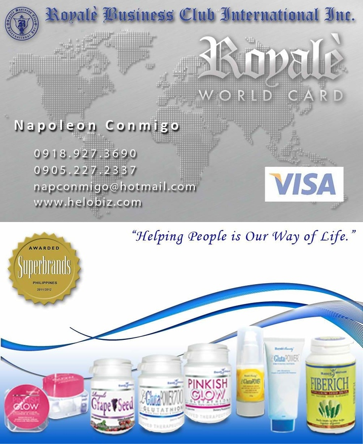 Welcome to our Royale Health and Beauty online shop. We are certified trusted online seller of BFAD Approved, Certified HALAL, HACCP approved, export quality and affordable health supplements and beauty products with Unique Selling Proposition. We guarantee you that all our products are proven safe and effective by thousands of satisfied users worldwide.