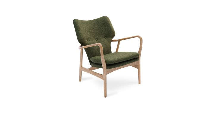 Uta Forest Lounge Chair - Lounge Chairs - Bryght | Modern, Mid-Century and Scandinavian Furniture $599  Good to get thru small door??