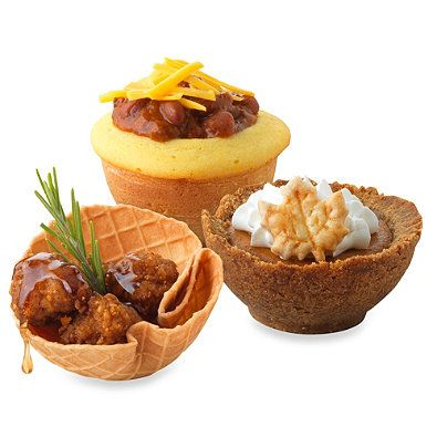 Sweet Creations 6-Cavity Bake-A-Bowl Pan