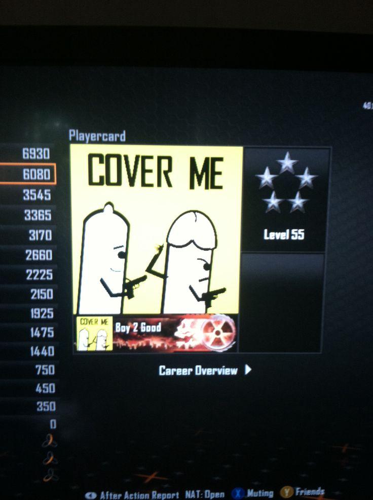 Best call of duty emblem ever Lol! | FUNNY | Gamer girl ...