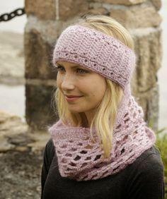 Il filo di Arianna maglia e uncinetto : Istruzioni per realizzare una fascia per la testa ...