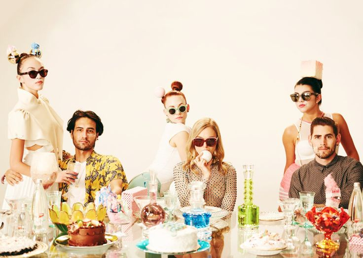 Lucy Folk presents SUGAR - Resort 2015 featuring some CAPI bottles!