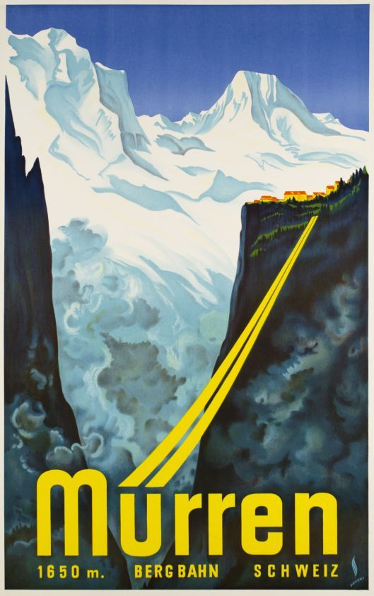 Mürren, Bergbahn, Schweiz, 1650m