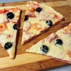 Тонкое хрустящее тесто для пиццы
