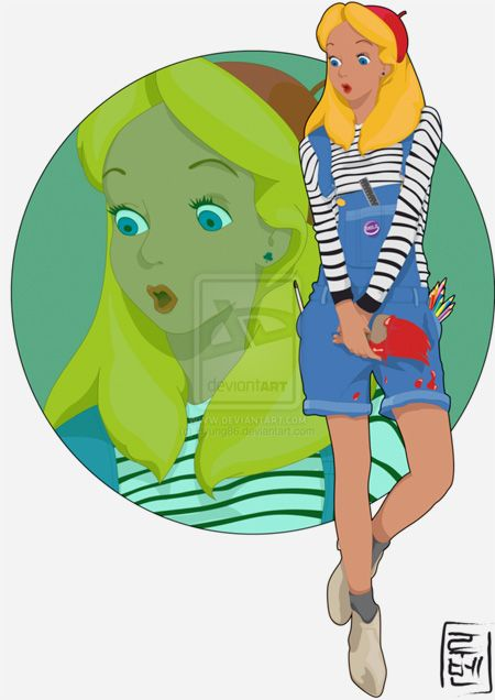 Disney University Student Alice - Looove it, it's so my style <3