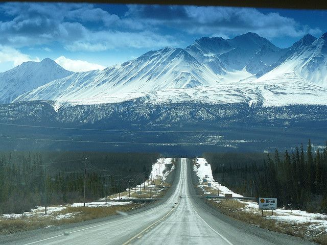 Alaska Highway, Yukon. I DROVE THIS WITH MY KIDS IN 97 AND ITS ABSOLUTELY BEAUTIFUL. THE YUKON TERRITORY.