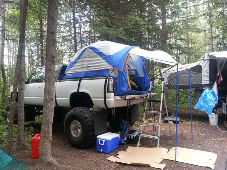 Do You Have A Napier Outdoor Tent For Your Truck Or Jeep Lots In Stock At Custom Parts Trucktent Campi Pinteres
