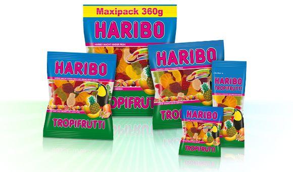 HARIBO Tropifrutti Produktfamilie