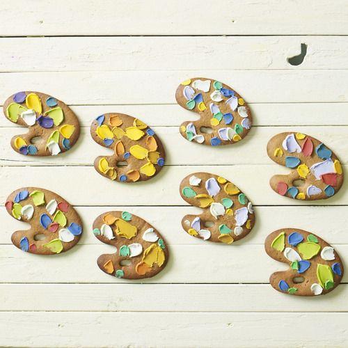 palette きょうをいろどるジンジャークッキー