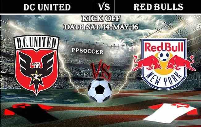 DC United vs New York Red Bulls 14.05.2016 Free Soccer Predictions, head to head, preview, predictions score, predictions under/over USA MLS