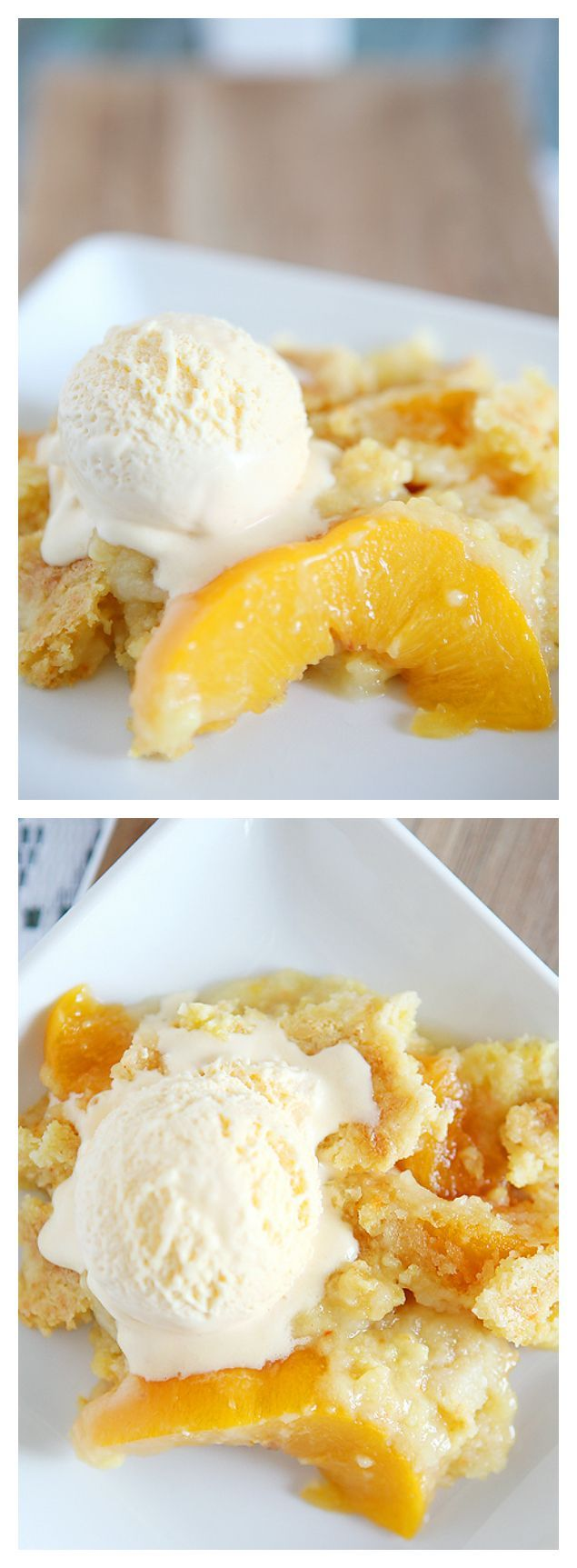 Peach Dump Cake | Dump Cake Recipes